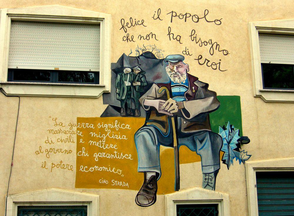 Murales Orgosolo Storia.Murales Di Orgosolo